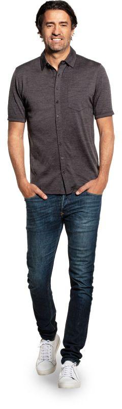 Joe Shirt Button Up Short Sleeve Interesting