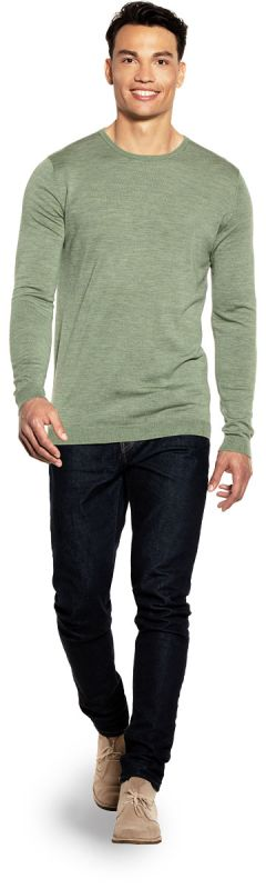 Classic Crew Extra Long Agave Green