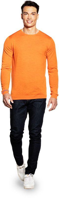 Classic Crew Extra Long Dutch Orange
