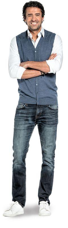 Joe Gilet Jeans Blue