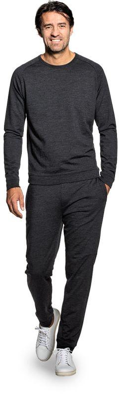 Joe Sweatshirt Antracite Grey