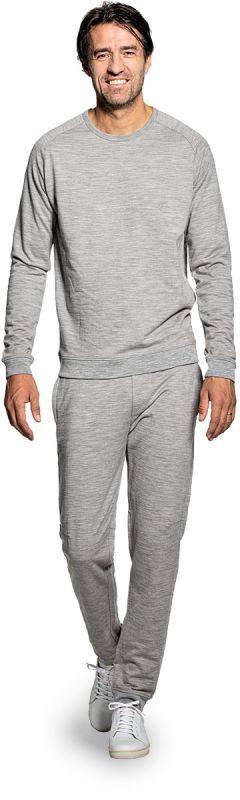 Joe Sweatshirt Mid Grey