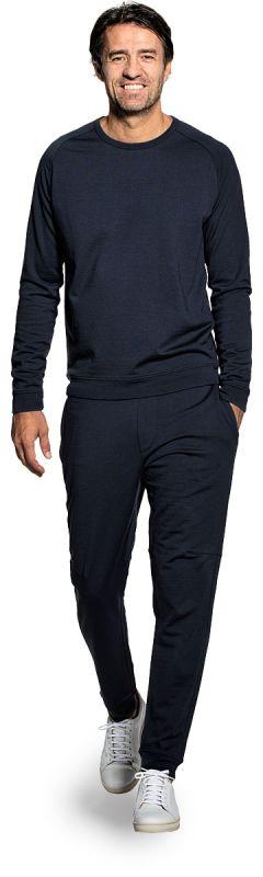 Joe Sweatshirt Navy Blue