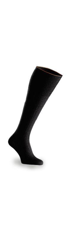 Joe Sock Extra Long Deep Black 2 pack