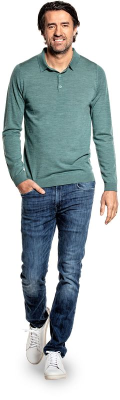 Riva Buttons Long Sleeve Cloud Forest
