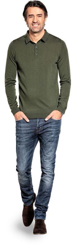 Riva Buttons Long Sleeve Classy Moss