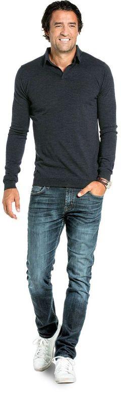 Joe Riva Long Sleeve Antracite Grey