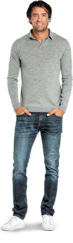 Joe Riva Long Sleeve Mid Grey