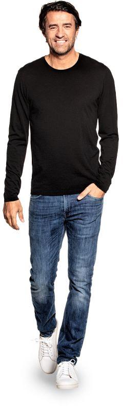 Shirt Long Sleeve Deep Black