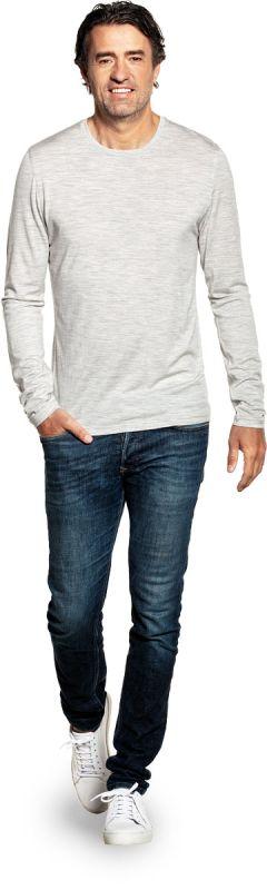 Shirt Long Sleeve Dover Grey