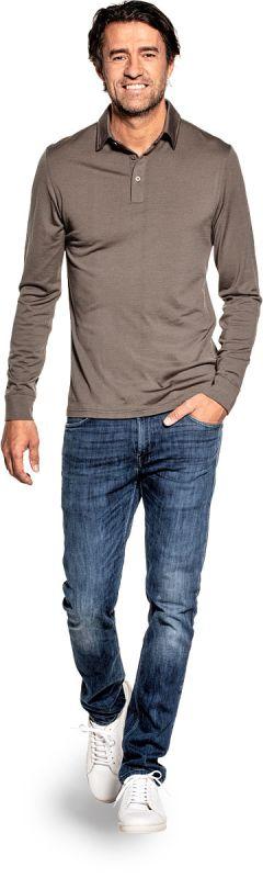 Joe Shirt Polo Long Sleeve Military