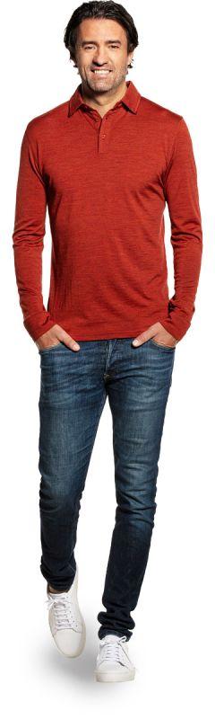 Shirt Polo Long Sleeve Copper Canyon