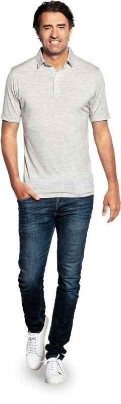 Joe Shirt Polo Short Sleeve Dover Grey