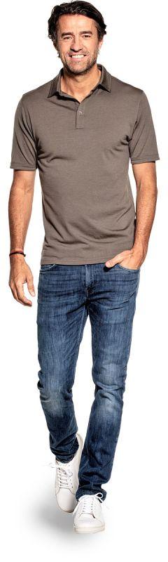 Joe Shirt Polo Short Sleeve Military