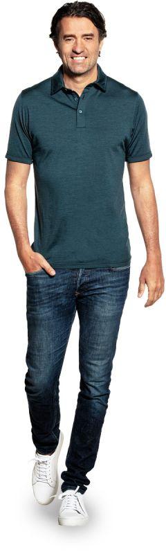 Joe Shirt Polo Short Sleeve Proud Peacock