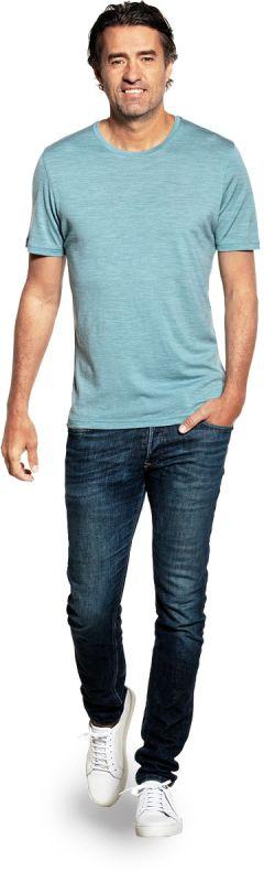 Joe Shirt Round Neck Mythos Blue