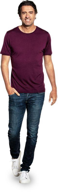 Joe Shirt Round Neck Red Cabbage