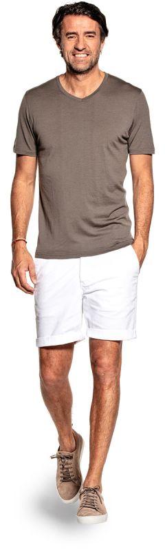 Joe Shirt V-neck Military