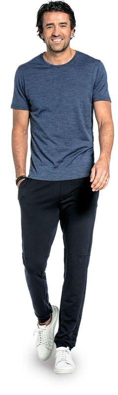 Joe Shirt Round Neck Coastal Blue