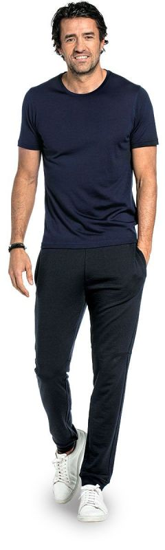 Joe Shirt Round Neck Navy Blue