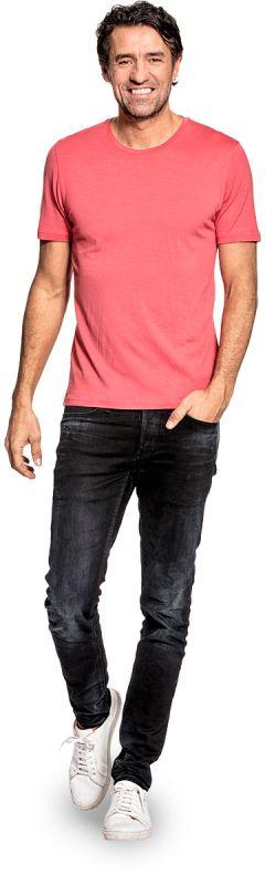 Joe Shirt Round Neck Surfers Pink