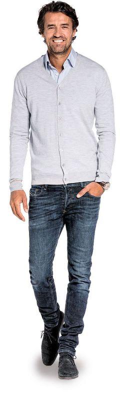Joe Vest Dusty Grey