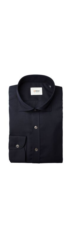 Joe Woven Shirt Extra Long Very Dark Navy