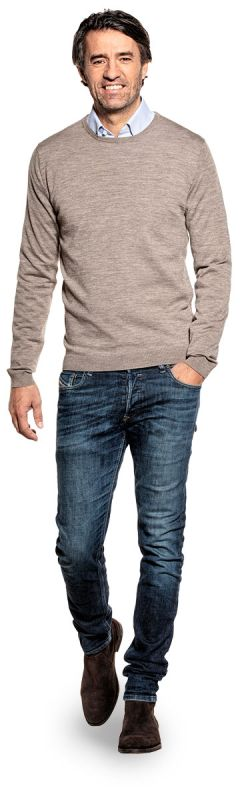 Classic Crew Undyed Natural