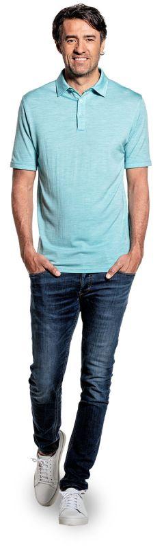 Joe Shirt Polo Short Sleeve Blue Capri