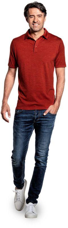Joe Shirt Polo Short Sleeve Copper Canyon