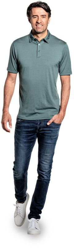 Joe Shirt Polo Short Sleeve Green Sage