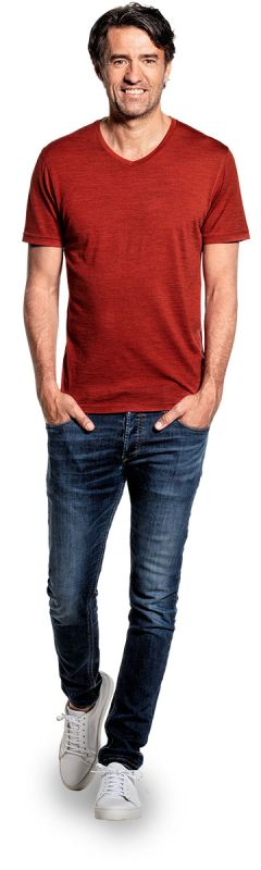 Joe Shirt V-neck Copper Canyon
