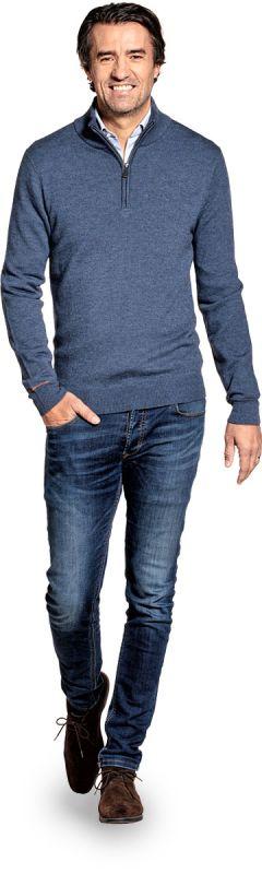 Joe Yak Zip Jeans Blue