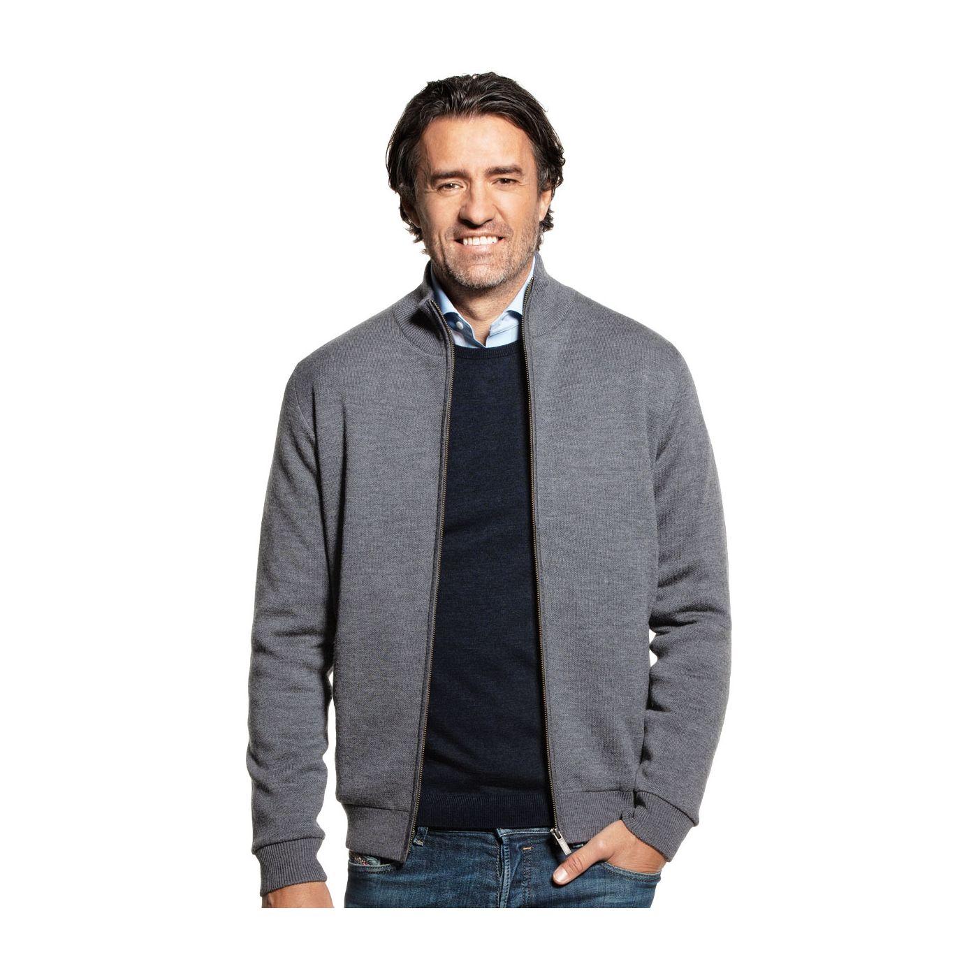 Joe Jacket Harvard Grey