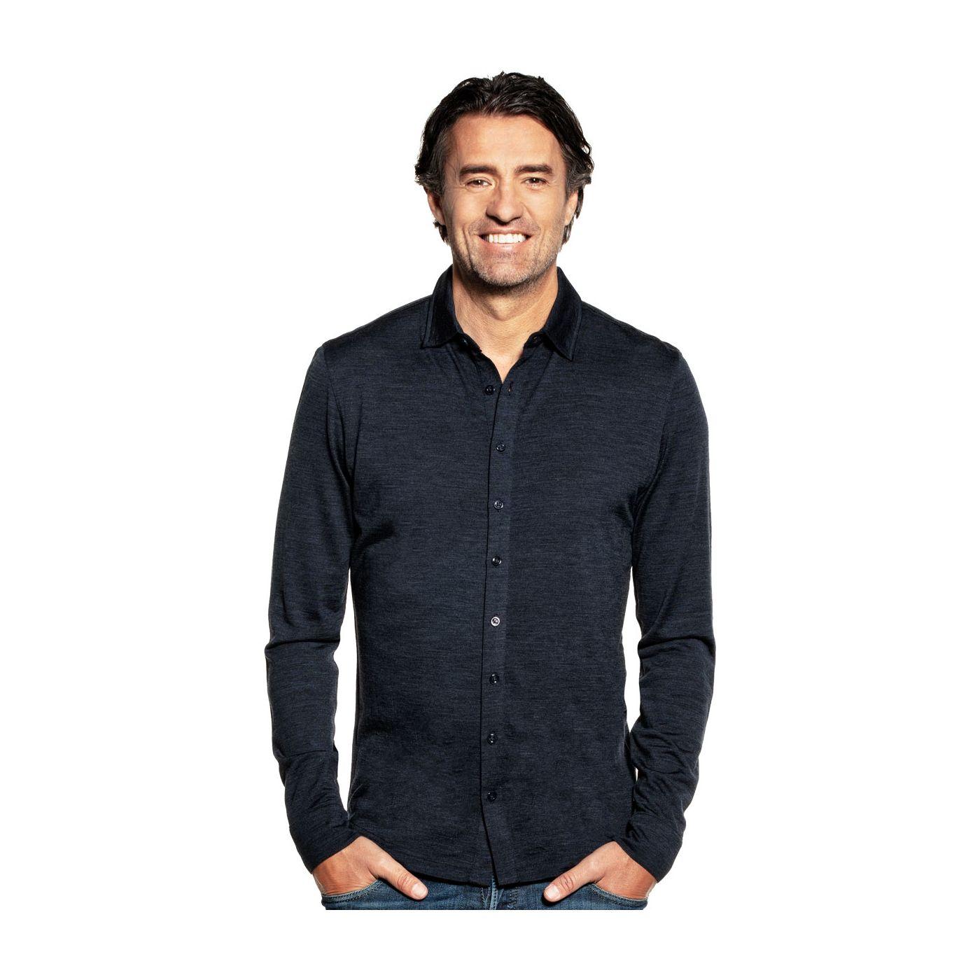 Shirt Button Up Blue Whale