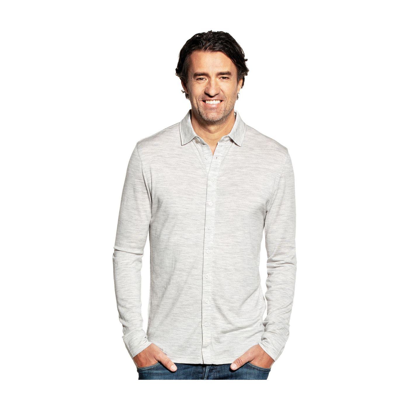 Joe Shirt Button Up Dover Grey