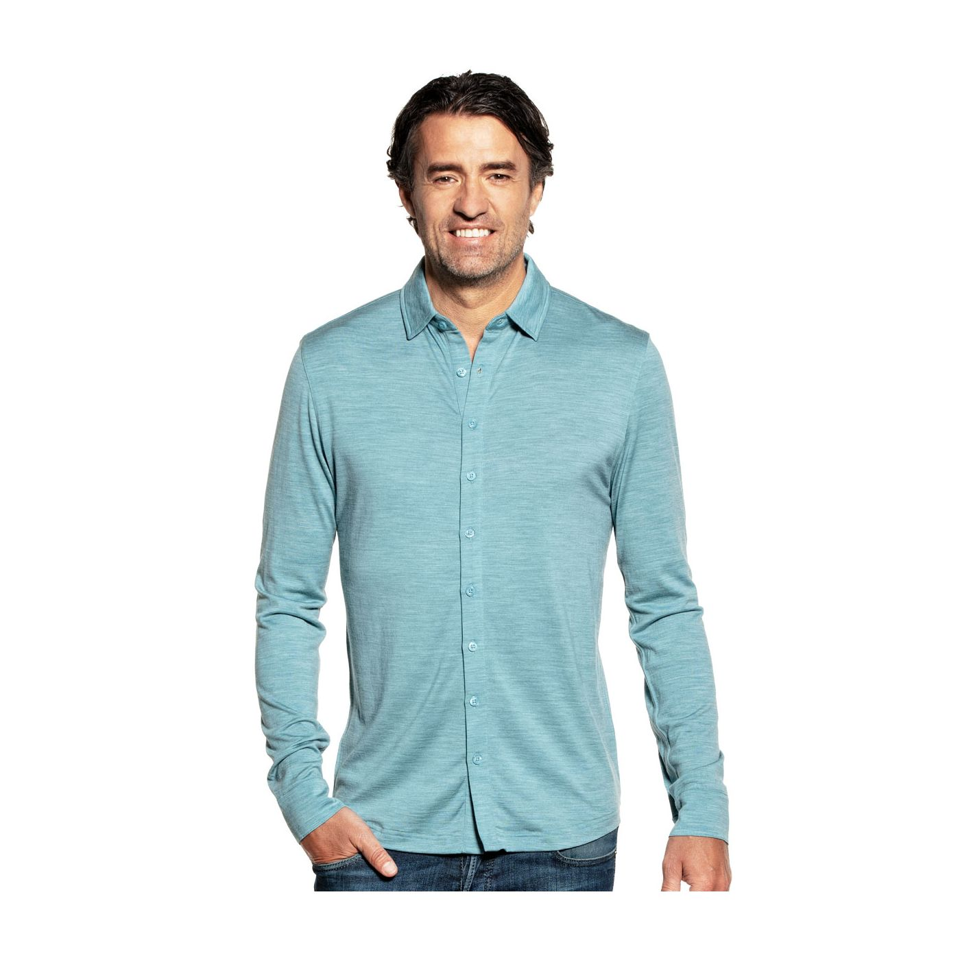 Joe Shirt Button Up Mythos Blue