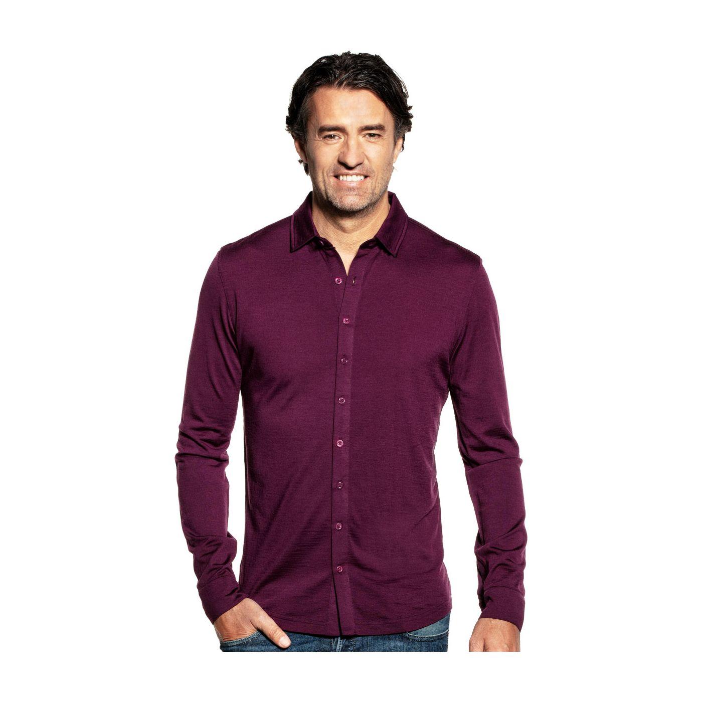 Joe Shirt Button Up Red Cabbage