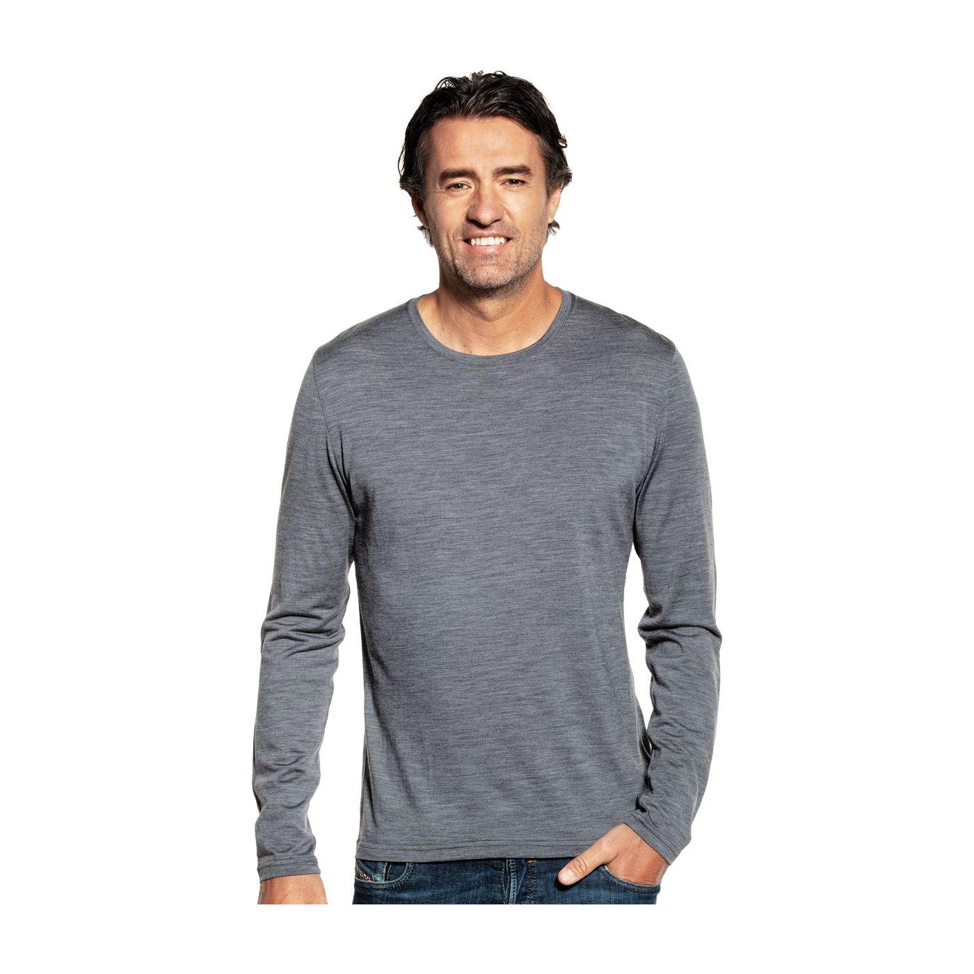 Shirt Long Sleeve Harvard Grey