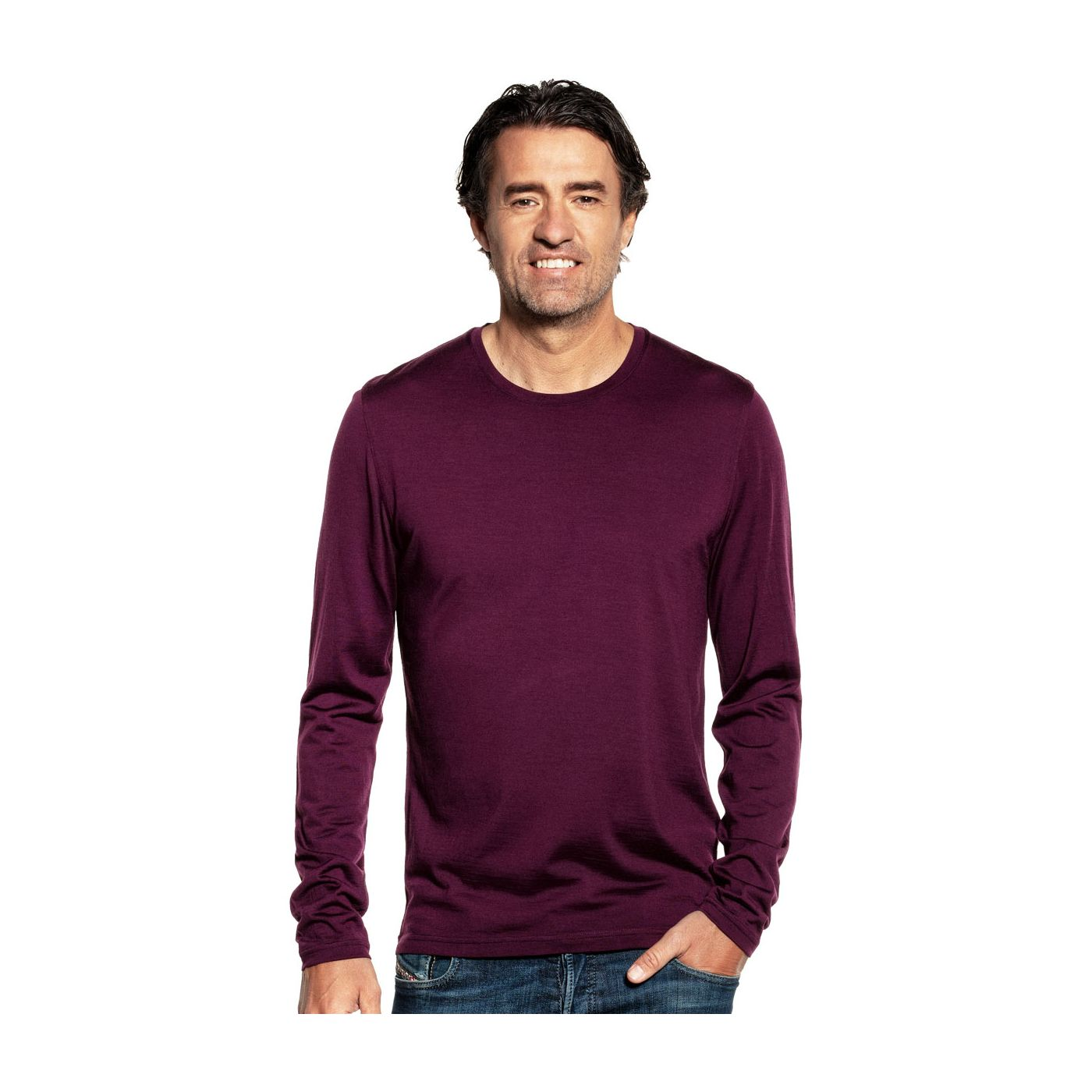 Shirt Long Sleeve Red Cabbage