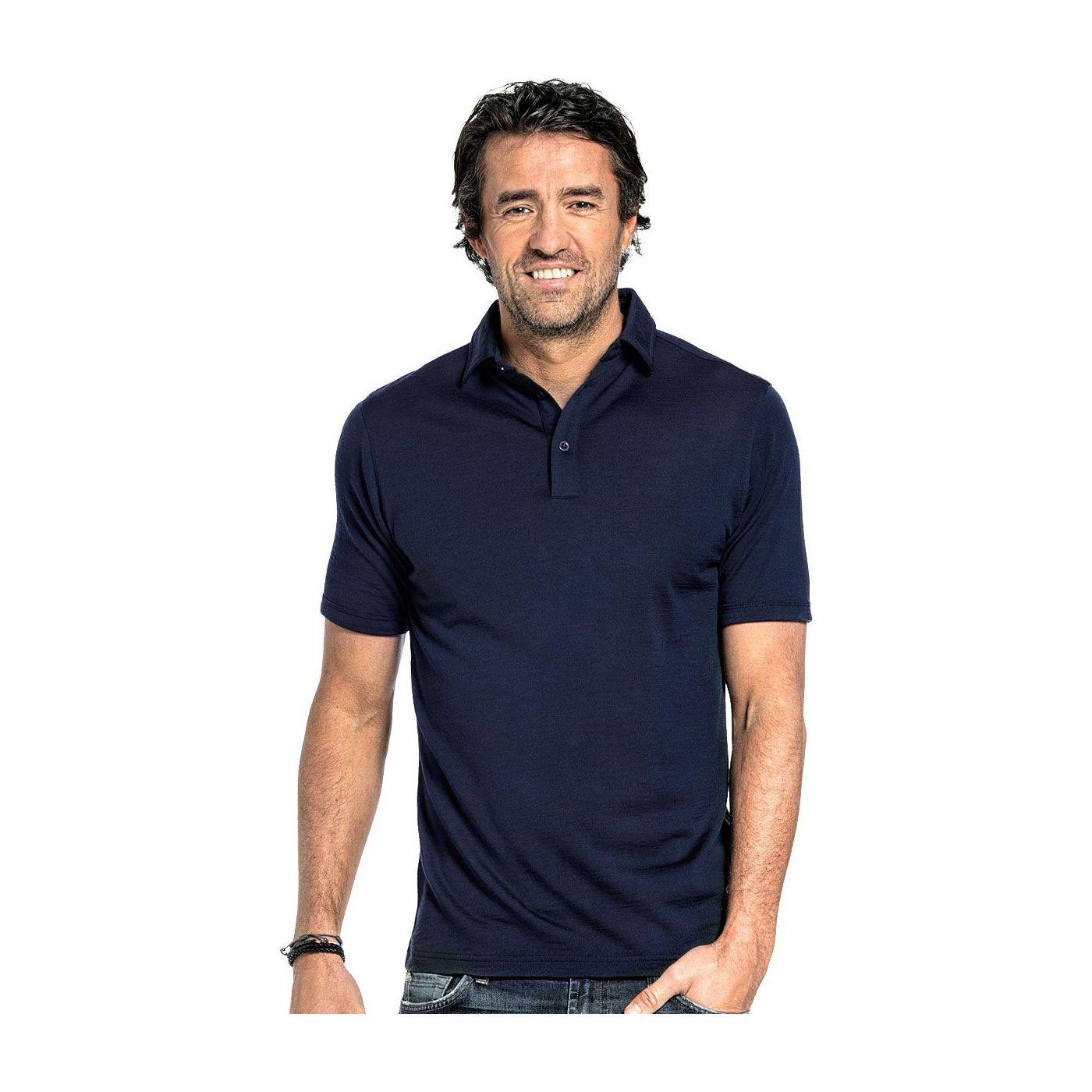 Shirt Polo Short Sleeve Navy Blue
