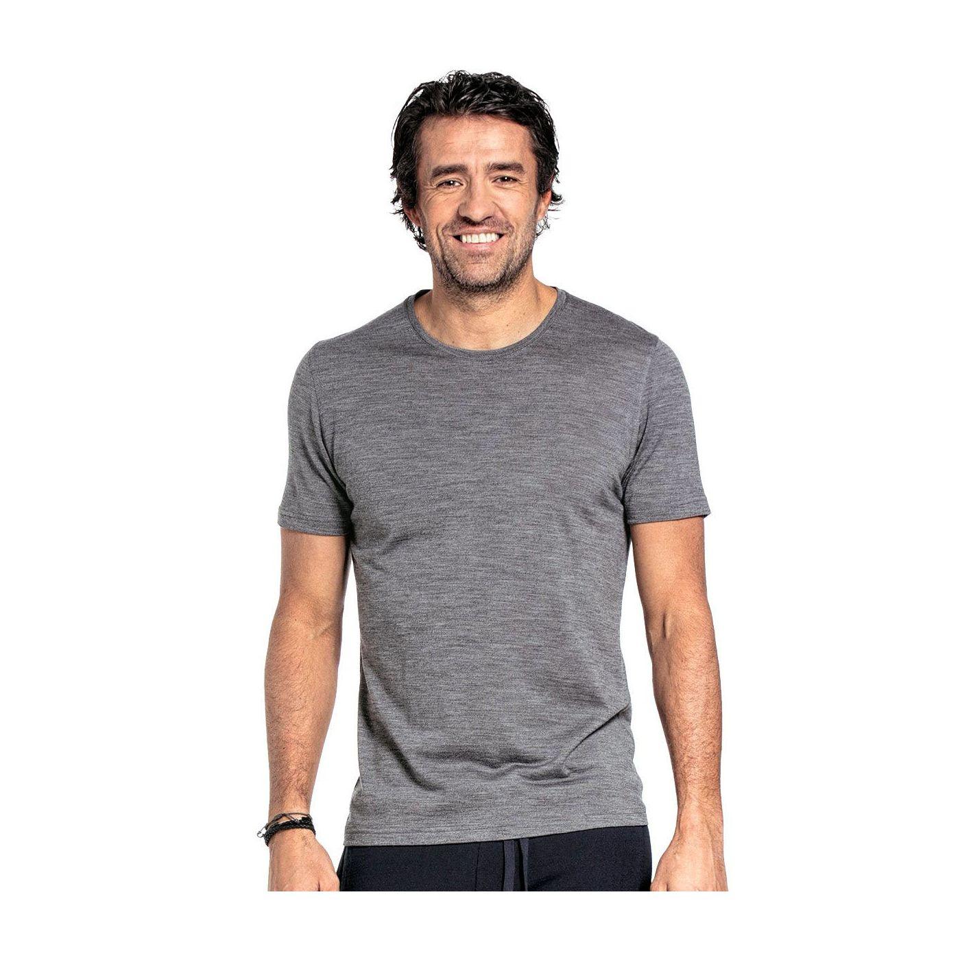 Joe Shirt Round Neck Grey Charcoal