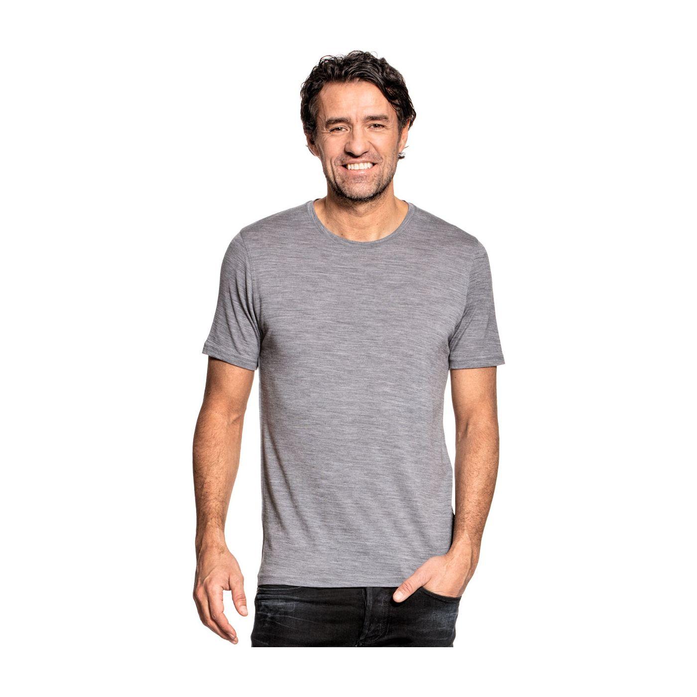Joe Shirt Round Neck Mid Grey