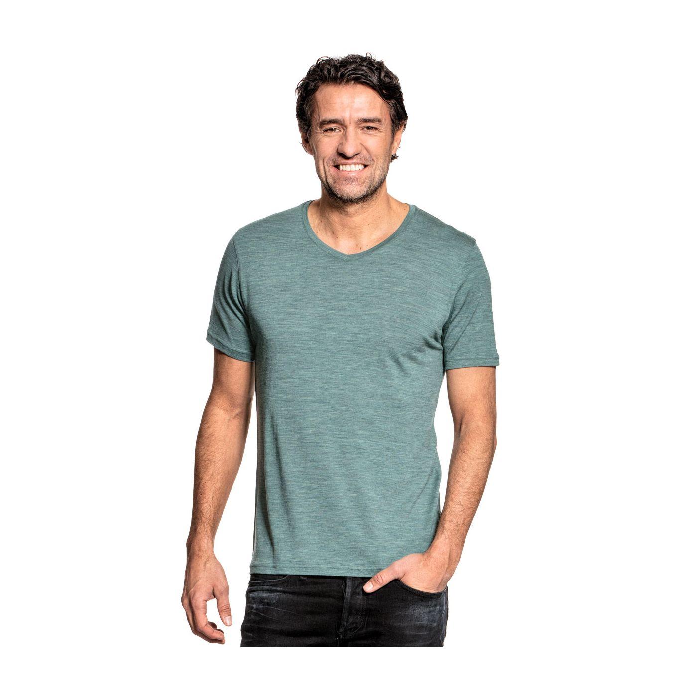 Joe Shirt V-neck Cloud Forest