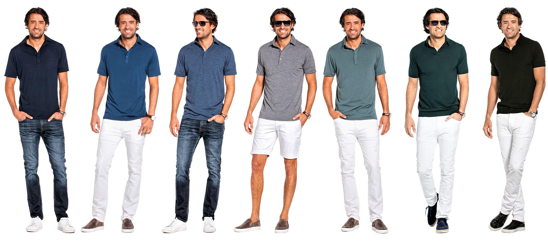 Merino Polo Shirt für Herren kaufen bei Joe Merino, exklusive Merino-Herrenbekleidung online.
