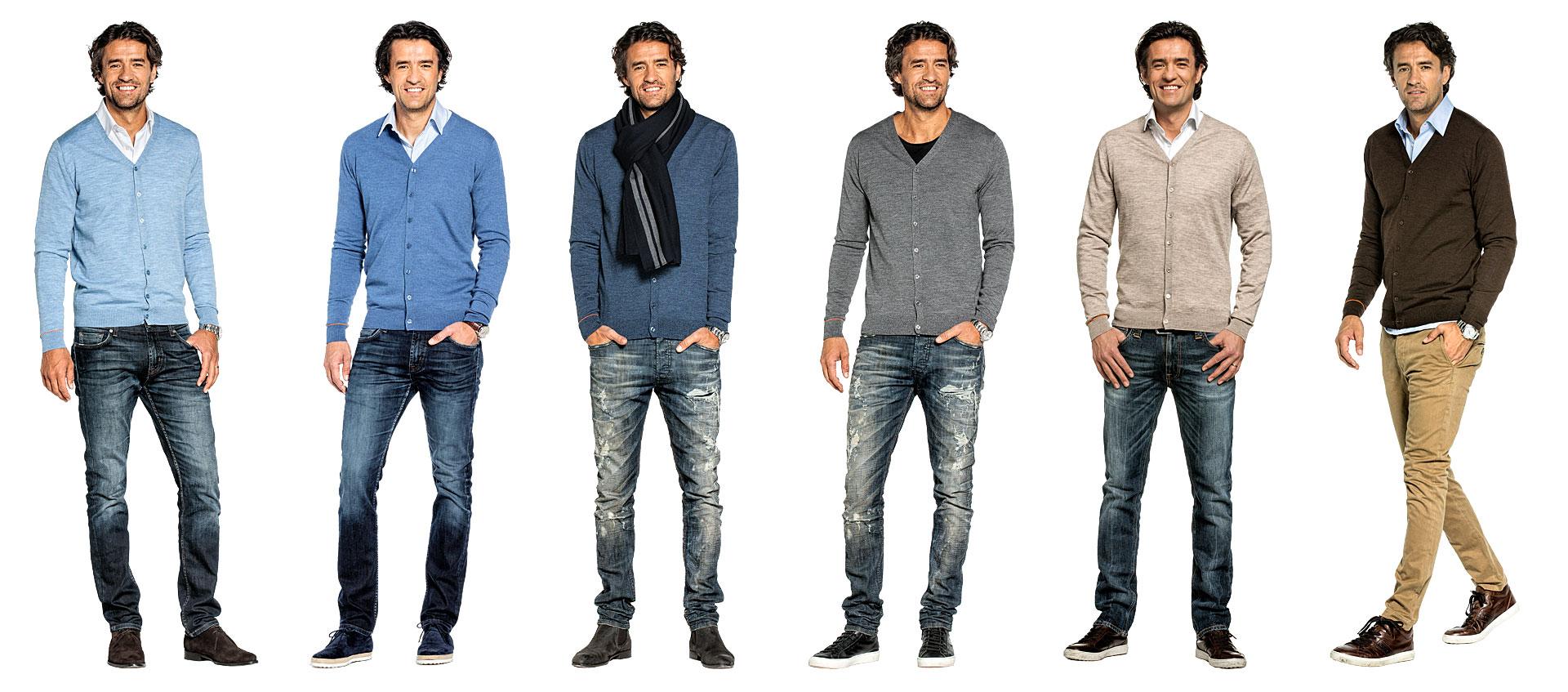 Merino Strickjacke für Herren aus 100% Merinowolle kaufen Sie online bei JoeMerino.com