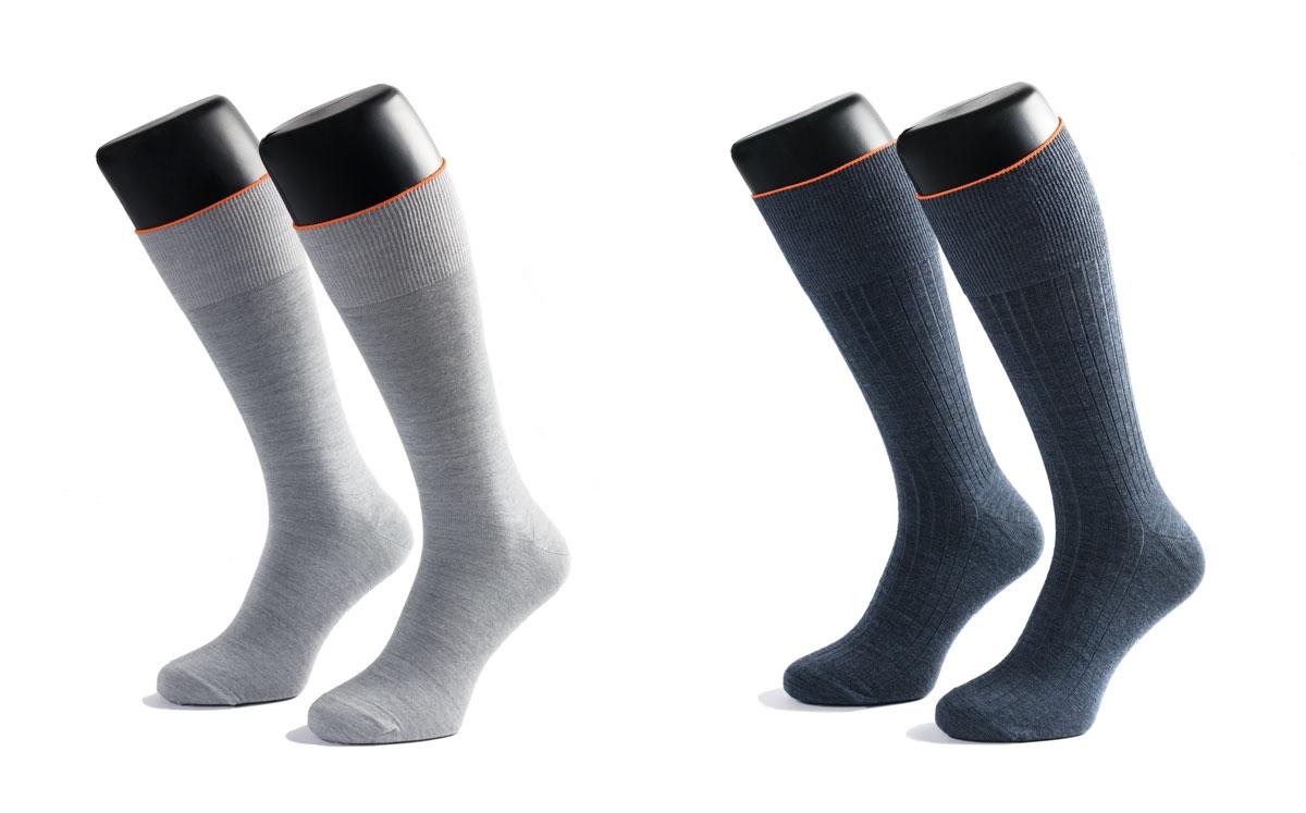 dunne merino wollen sokken