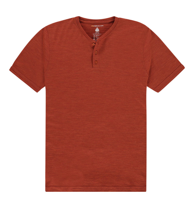 Shirt henley Short Sleeve