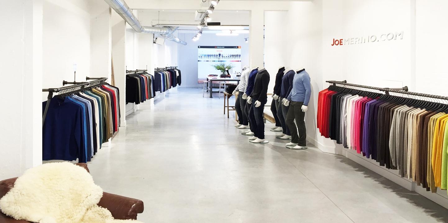 Joe Merino Antwerpen Store