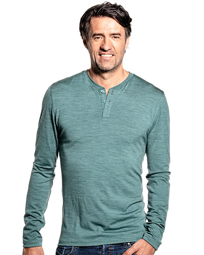 Shirt Henley Long Sleeve